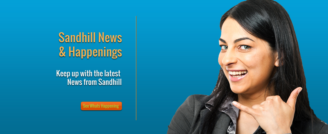 Sandhill News and Happenings